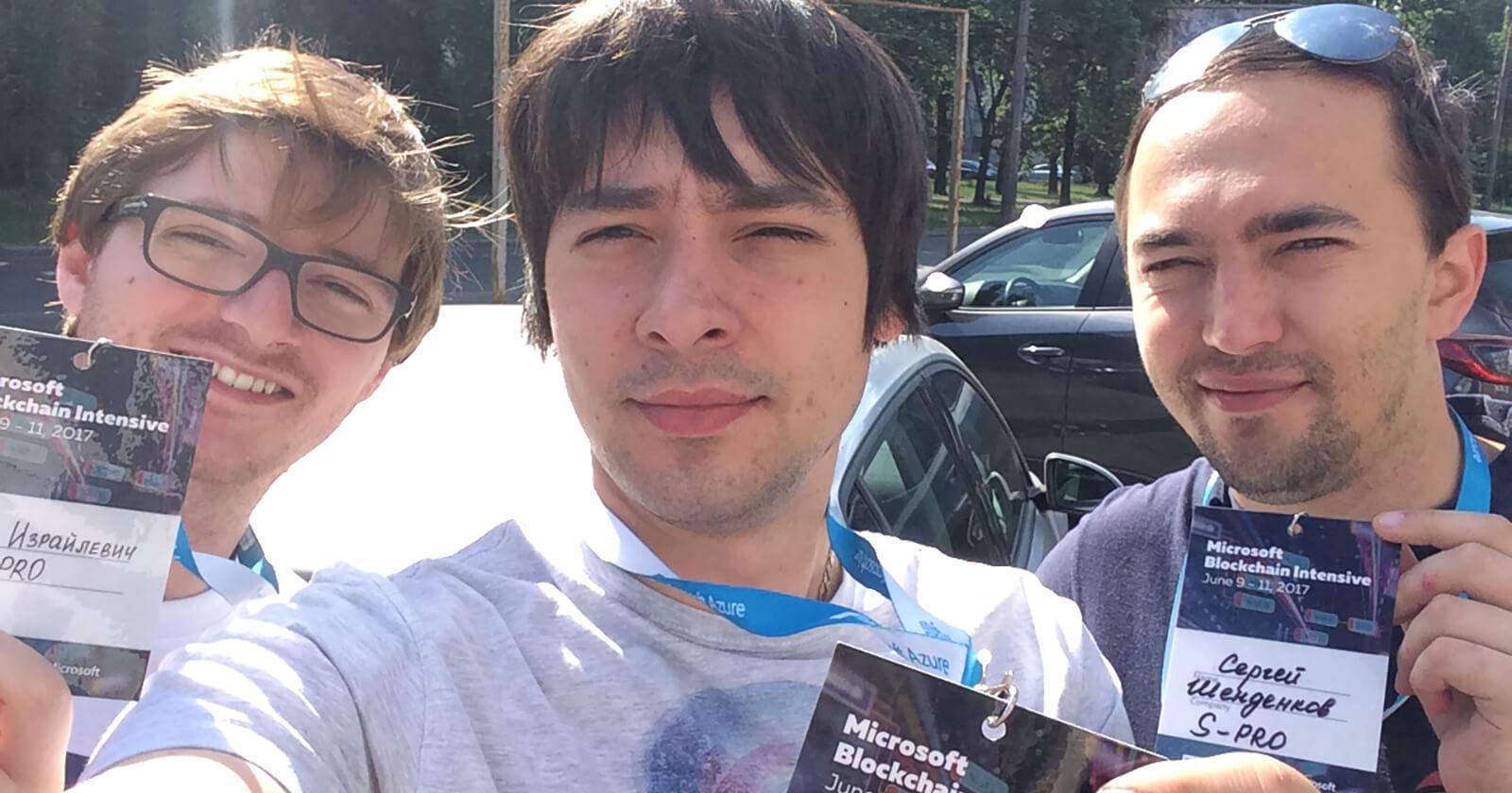 Blockchain hackaton - Blog S-PRO
