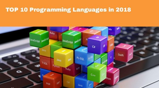TOP 10 Programming Languages in 2018
