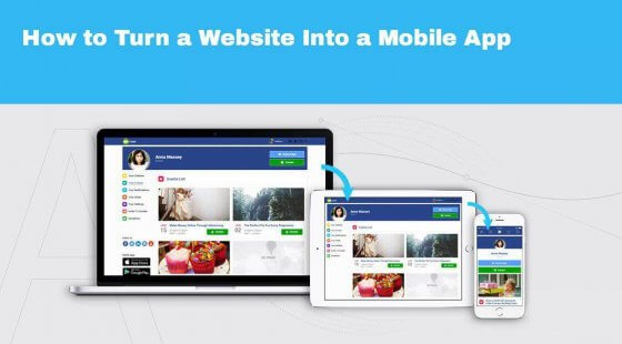 How to Turn a Website Into a Mobile App - S-pro blog