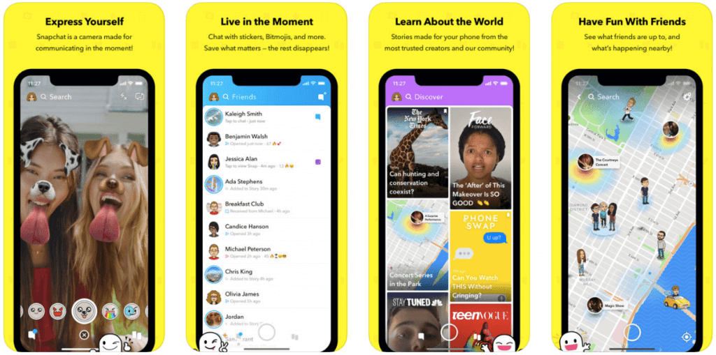 Snapchat screenshots - Blog S-PRO