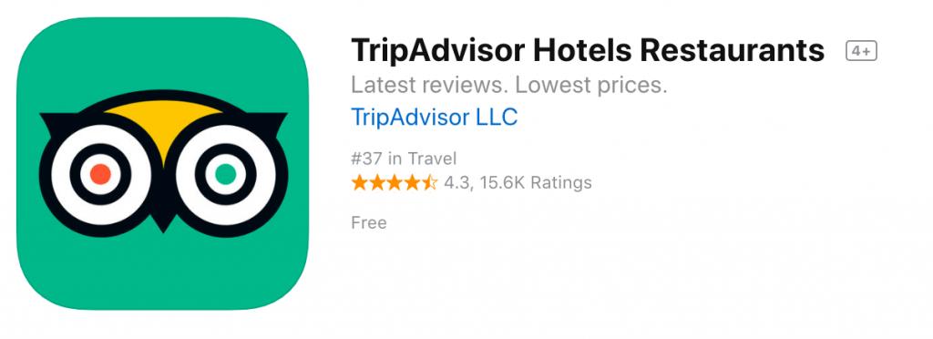 TripAdvisor App Store - Blog S-Pro