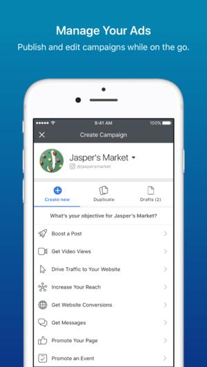 Facebook Ads Manager - Blog S-Pro