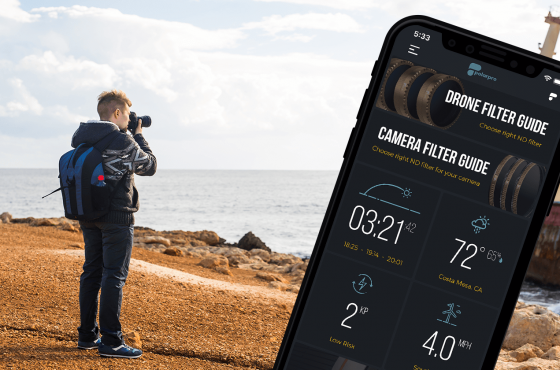 Case Study: PolarPro App. Stop Taking Pictures, Start Taking Photos