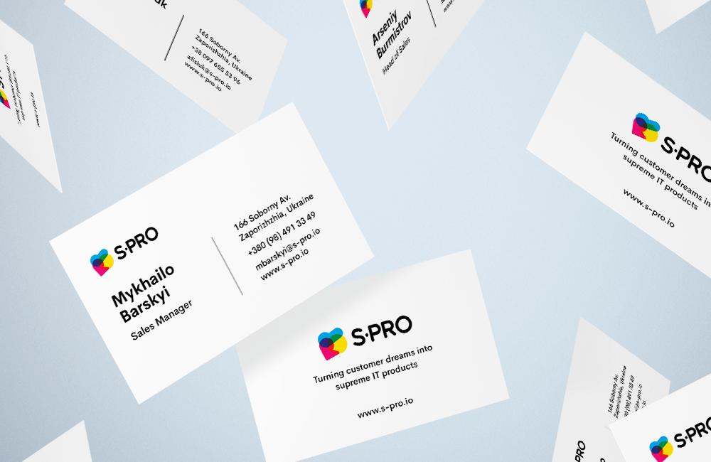 Visual Identity Card - Blog S-PRO